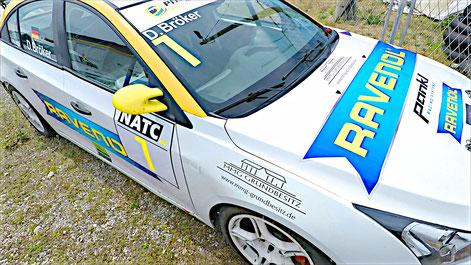Ravenol Racing Tourenwagen Markenpokal Chevrolet Sponsoring 2020 Dennis Bröker NATC