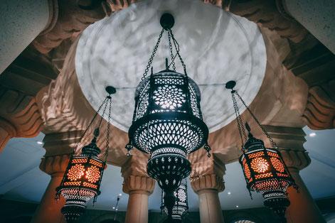 Während des Ramadans fasten Muslime 30 Tage lang von Sonnenaufgang bis Sonnenuntergang