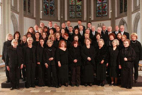 der Münsterchor zum 175-jährigen Jubiläum 2009 (Foto Johannes Pöttgens)