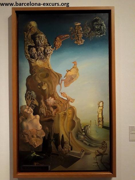 Сальвадор Дали. Выставка в Барселоне