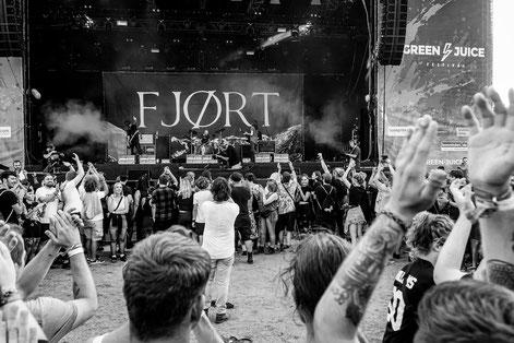 Fjort - Green Juice Festival - Bonn - Crowd - Moshpit - Atmo - Konzertsucht
