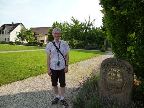 Im Barockgarten Freinsheim, 12.7.15