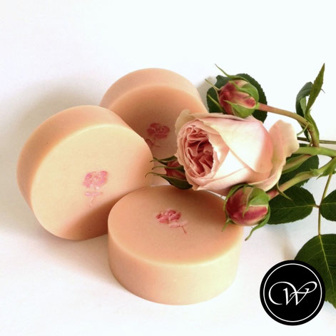 Rose soap by Fraeulein Winter