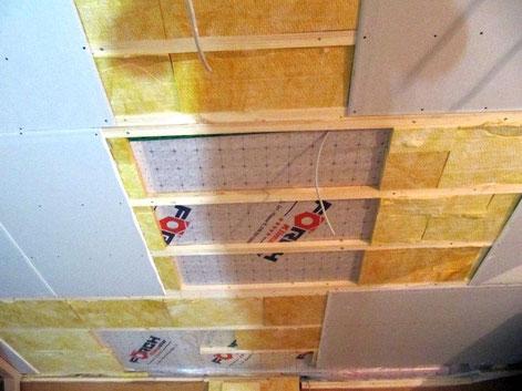 1: Aussparung  für ein  Velux-Dachfenster