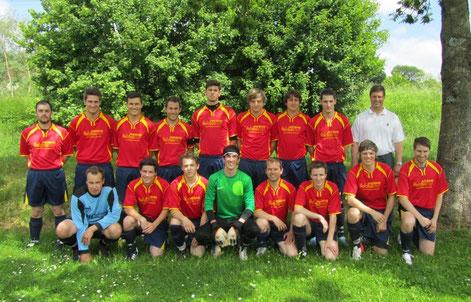 Erste Mannschaft SV Rindelbach