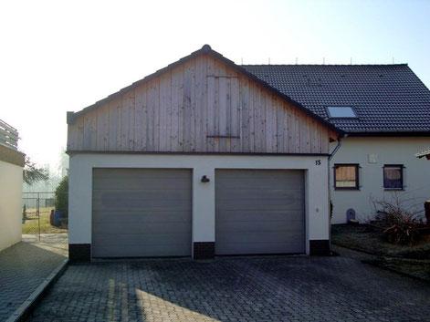 Garagenüberdachung …