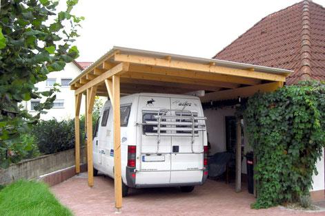 Ein praktisches Vordach