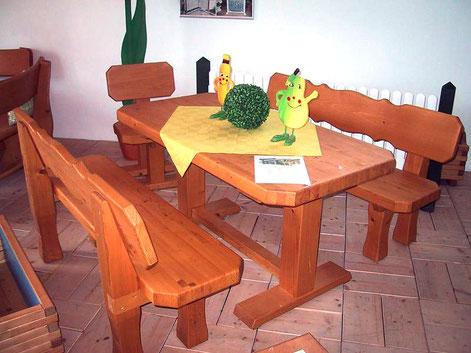 HBM Sitzgruppe Rustikal