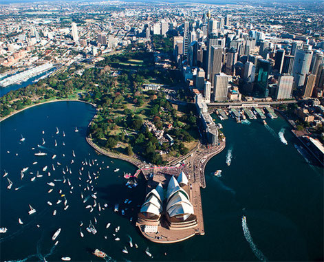 Australia Sydney Harbour 402 Training Visa