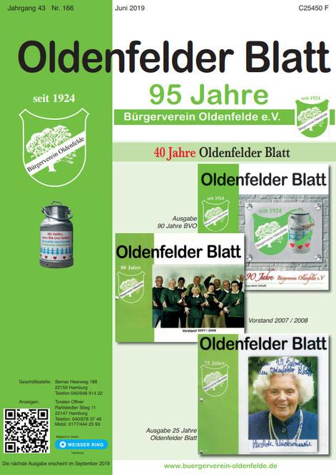 Oldenfelder Blatt Nr. 166