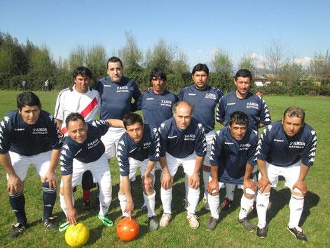 Viejos Crack, Club Deportivo La Platina Septiembre de2014
