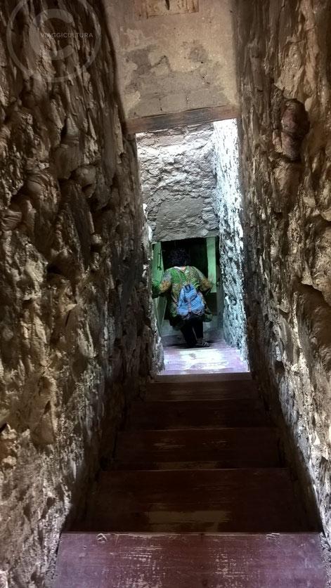 Inizio della discesa alla TT359, la Tomba di Inherkhau - Deir el Medina