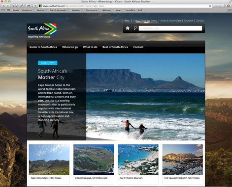 See more about South Africa at www.southafrica.net