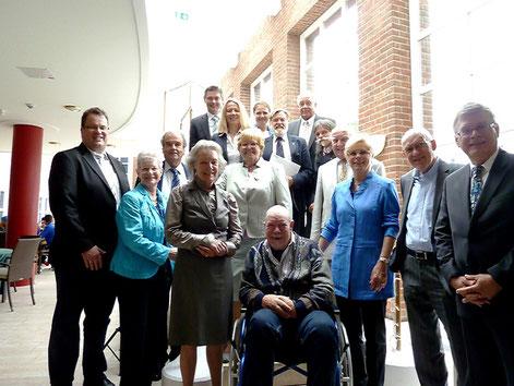 Insgesamt 18 Jubilare konnte der CDU-Stadtverband Neukirchen-Vluyn für ihre 40- und 50-jährige Mitgliedschaft ehren.