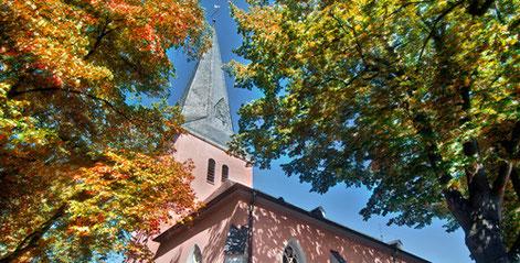 kirche im dorf neukirchen.©andreas salmon/diekuhvomeis.de
