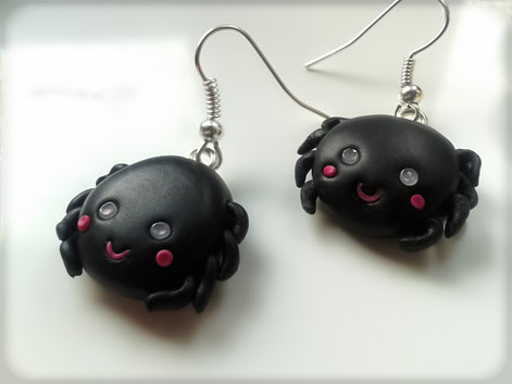 Kawaii Spider Earrings