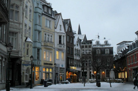 Aachen Old town copyright Wilfried