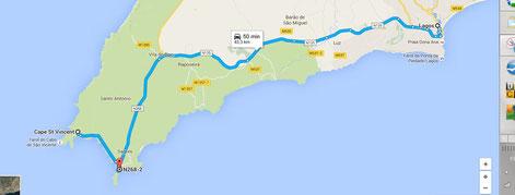 LAGOS / Cabo St VINCENT / SAGRES
