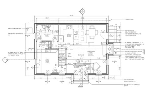 First Floor Plan - Living Spaces