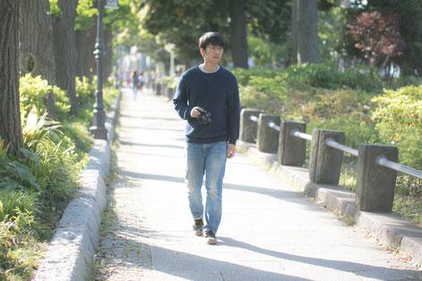 坐骨神経痛に悩む奈良県広陵町の男性