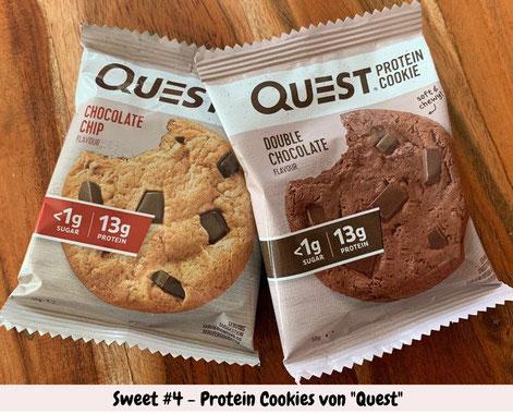 Quest Protein Cookie Produkttest Tasting Travel Keto