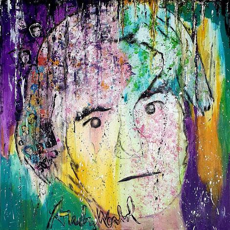 Andy Warhol, 100x100cm