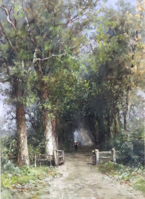 te_koop_aangeboden_een_aquarel_van_de_nederlandse_kunstschilder_en_aquarellist_pieter_adriaan_schipperus_1840-1929_haagse_school