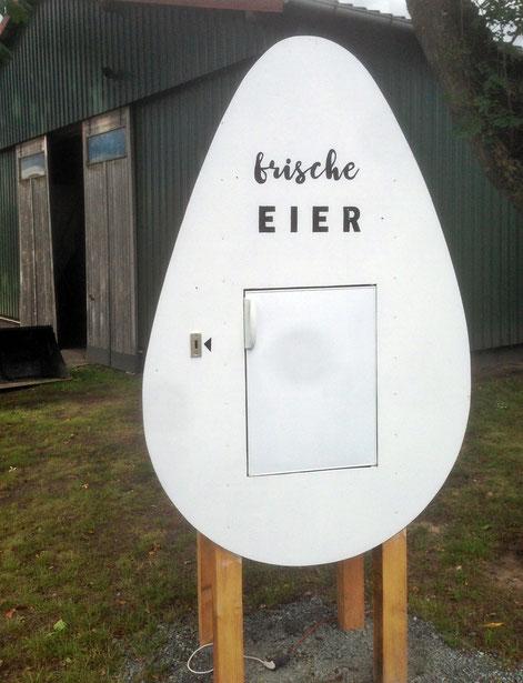 frische Eier vom Hof kaufen (Eierstand Heeslingen)