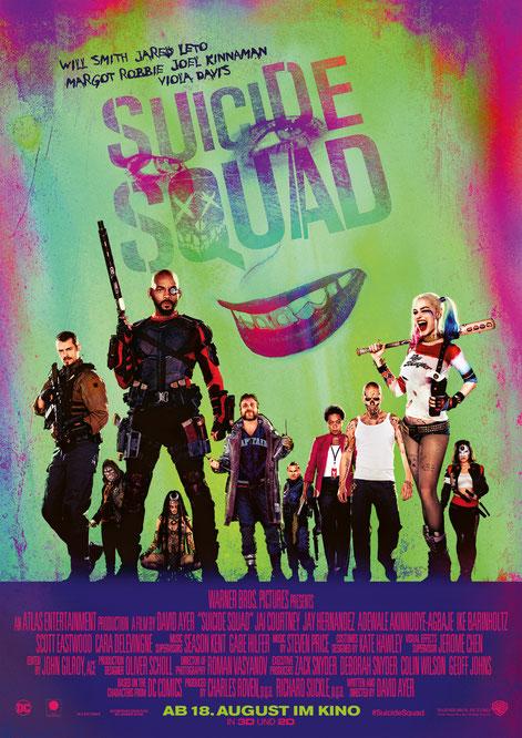 Suicide Squad - DC Comics - Warner Bros Pictures - kulturmaterial - German Poster