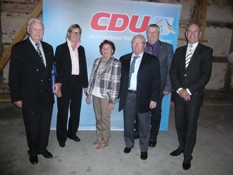 Herr Strickstrak, Frau Ross-Luttmann,Frau Weritz, Herr Kühlcke, Herr Ehlers und Herr Pickartz.