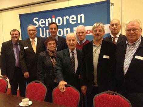 Mitglieder der Kreis SU auf dem Landesdelegiertentag der Senioren Union Niedersachsen am 14.11.14 in Papenburg