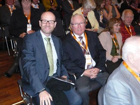 Peter Tauber Generalsekretär der CDU und Hans Georg Kühlcke