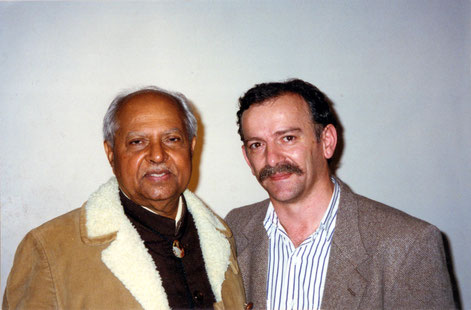 1997 : Tony with Bhau Kalchuri in Melborne, Australia