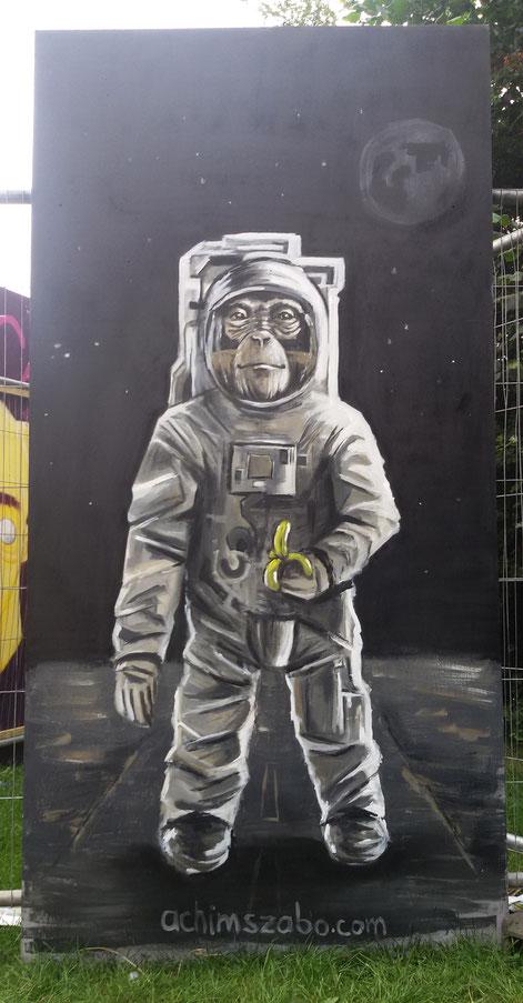 """""""Spacemonkey"""" - UPFEST 2016 (Bristol)"""