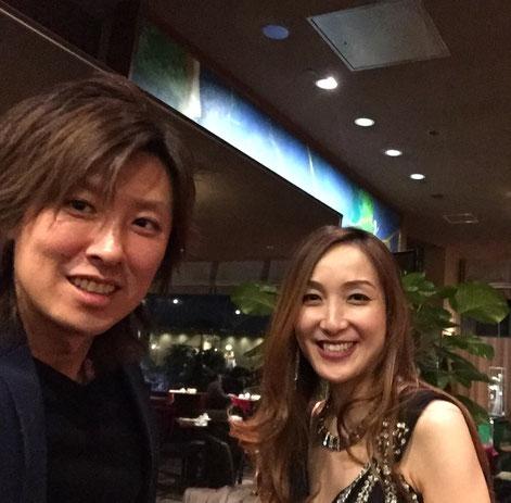 ハクエイ・キムさん(P)KOKORO(Fl)
