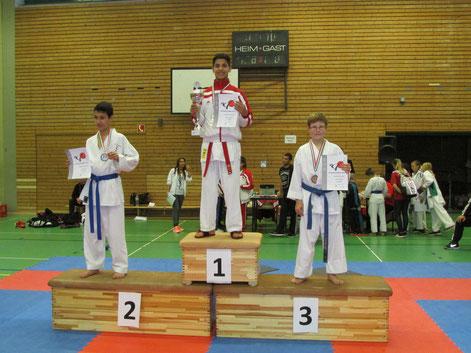 Frank Gareev 3 Platz