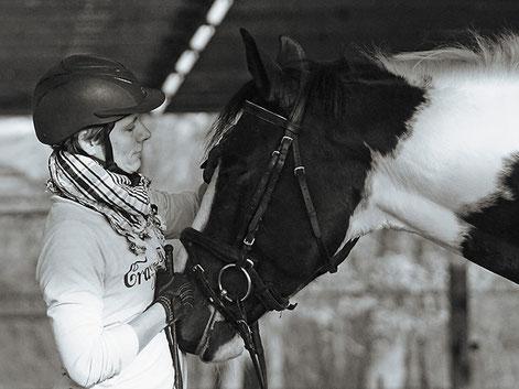 Wera Grommes Ausbildung Beritt Pferde Reitlehrerin Turnierreiterin TOS Dr. Grommes