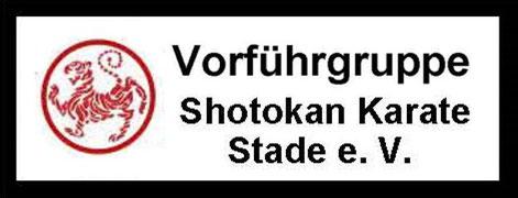 Aufnäher des Shotokan Karate Stade e. V. für die Teilnehmer der Vorführgruppe