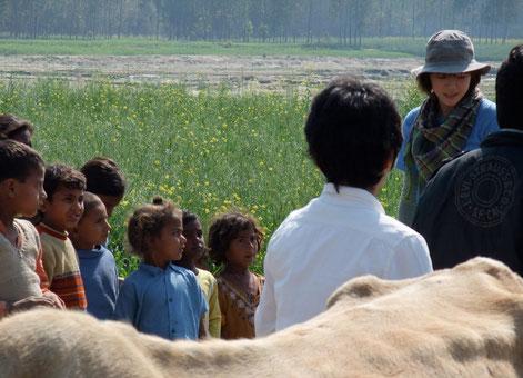 上野樹里 インドへ行く(NHKハイビジョン特集) |グランドファザーズレター|Cross Culture Holdings  松任谷愛介|