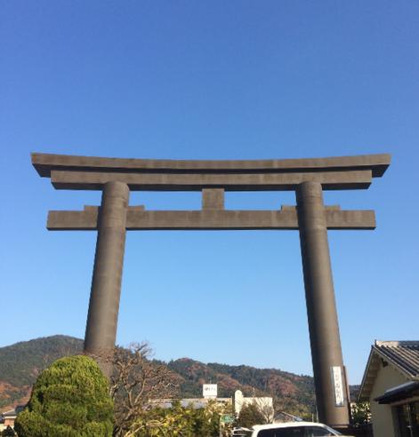 大神神社一の鳥居(筆者撮影)