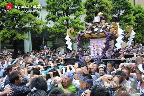 2015年 三社祭(5月17日): 二之宮・本社神輿渡御〈駒形町会〉ⓒreal Japan 'on!