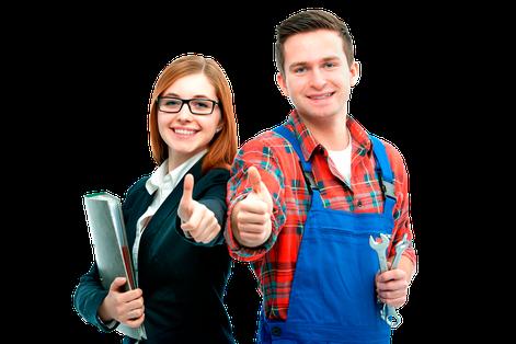 Bürokauffrau , Zerspanungsmechaniker bei CDL-Präzisionstechnik