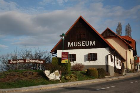 Hier siehst Du das Weinmuseum in Kitzeck