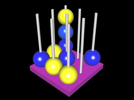 3D Tic Tac Toe mit Parameterflächen