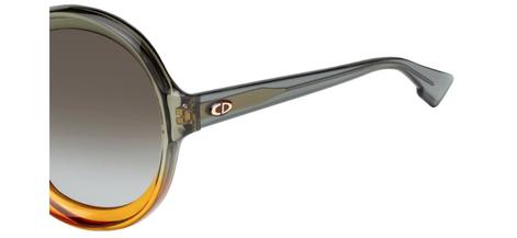Occhiali da sole Christian Dior donna. Modello: Diorbianca. Colore: LGP/HA verde e arancio. Calibro 58-15. Prezzo € 234,00. Spedizione gratis. Materiale: optyl. Forma: Ovale.