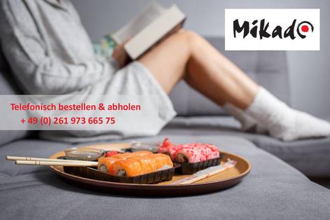 Sushi bestellen Koblenz, kein Lieferservice