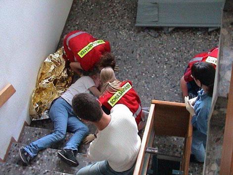 Schulsanitätsdienst Darmstadt an der ESS