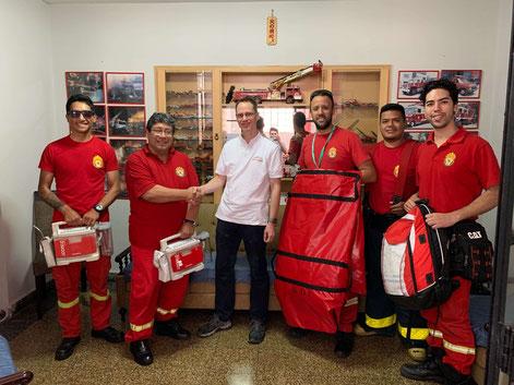 Spende an den Rettungsdienst Peru