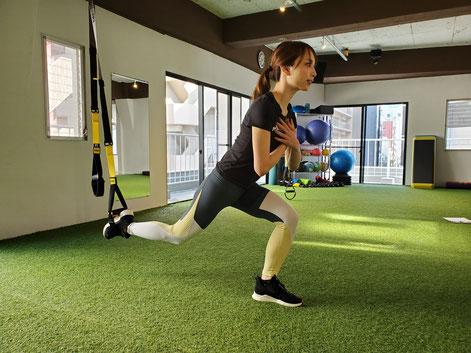 小林サキにパーソナルトレーニングお任せください。