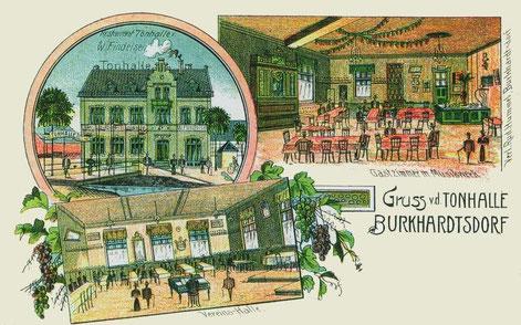Alte Ansichtskarte von 1906